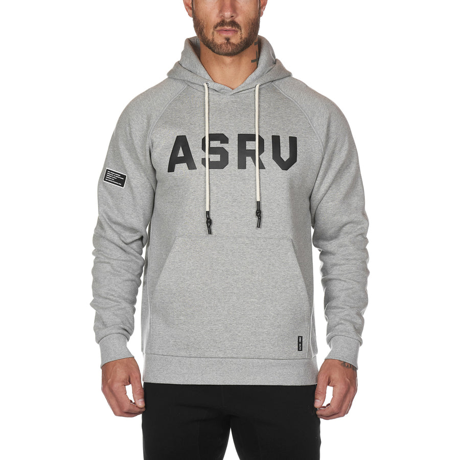 0173. Essential Fleece Weatherproof Hoodie - Heather Grey