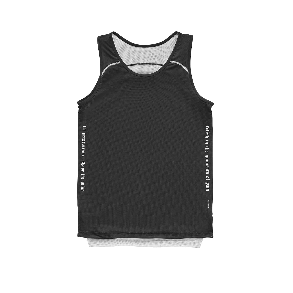 0294. SilverPlus® Reversible Jersey - Black/White