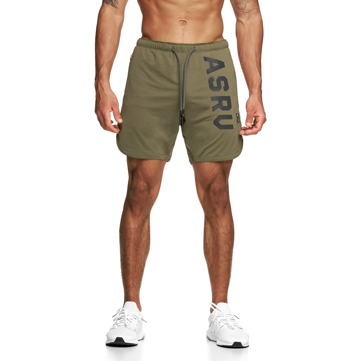 "0170. Silver-Lite® 7"" Linerless Short - Olive"