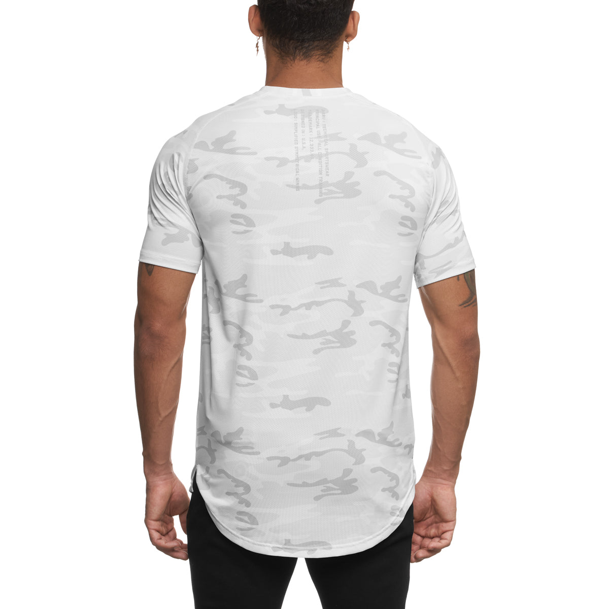 0164. Silver-Lite® Established Tee - White Camo