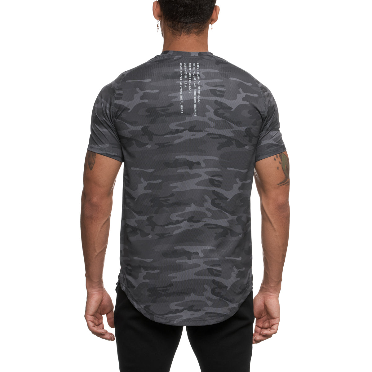 0164. Silver-Lite® Established Tee - Black Camo
