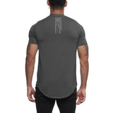 0164. Silver-Lite® Established Tee - Dark Grey