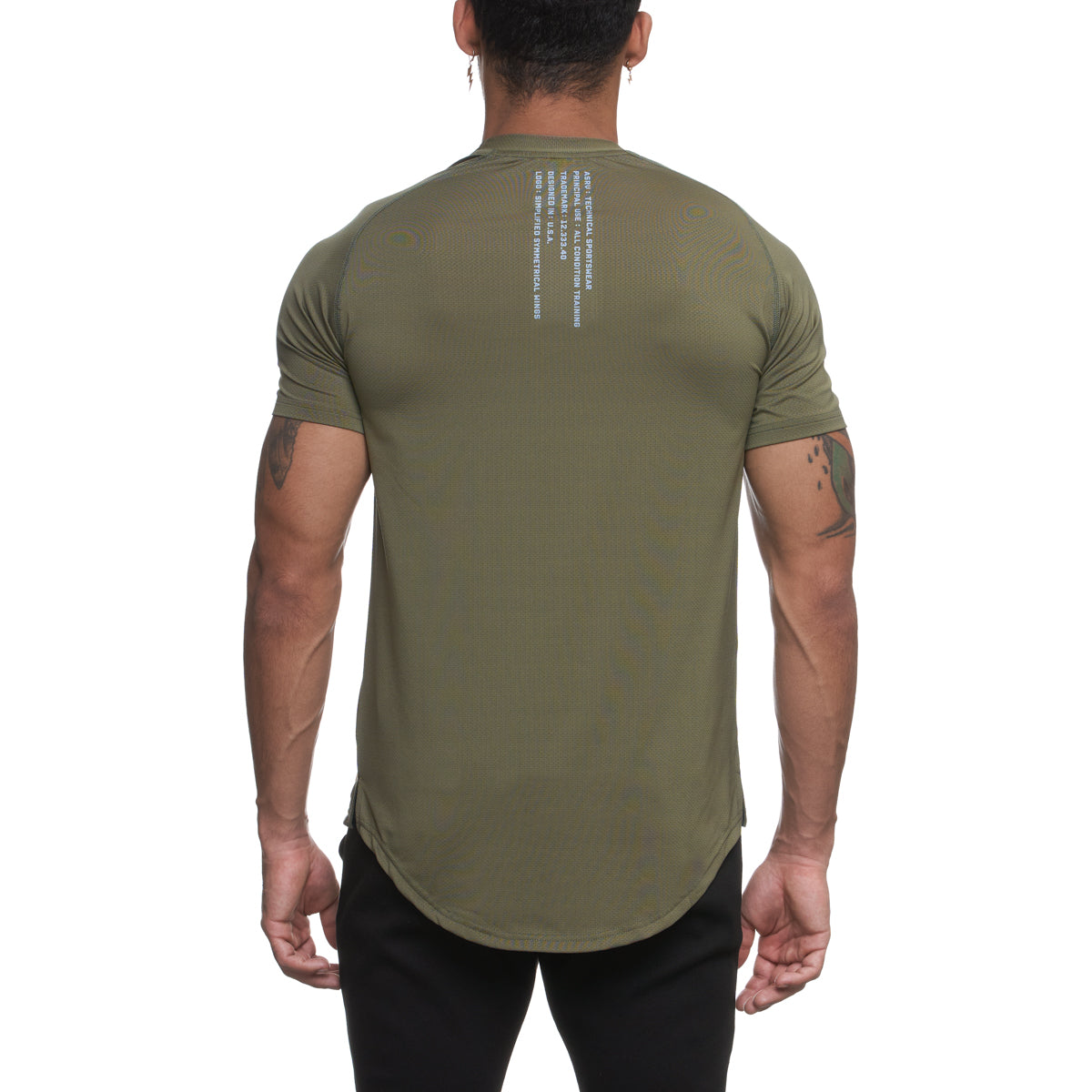 0164. Silver-Lite® Established Tee - Olive