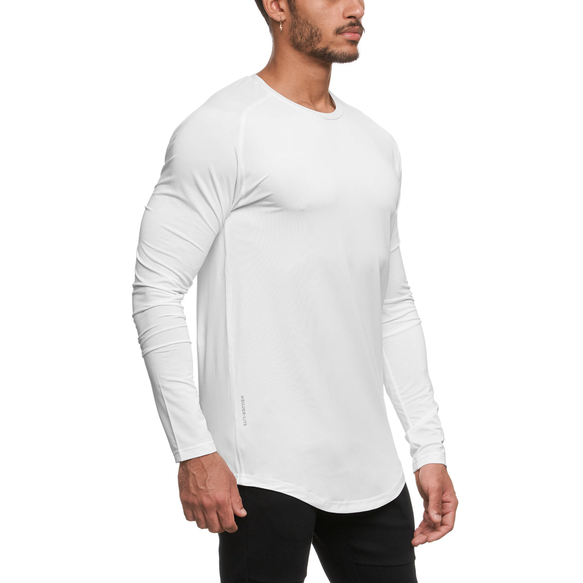 0149. Silver-Lite® Long Sleeve - White