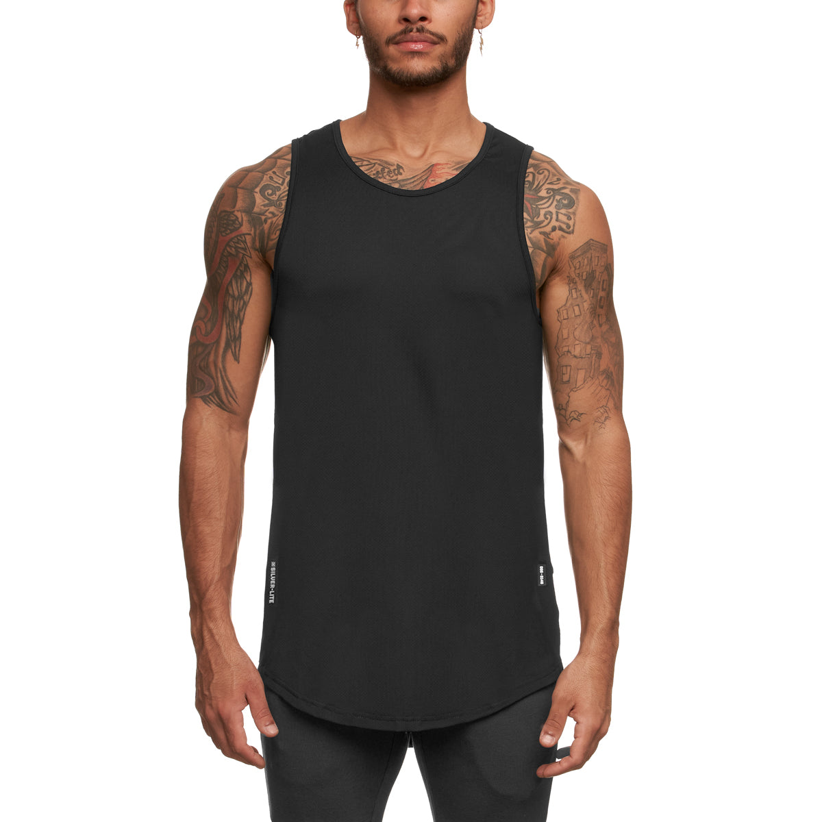 0146. Silver-Lite® Tank Top - Black