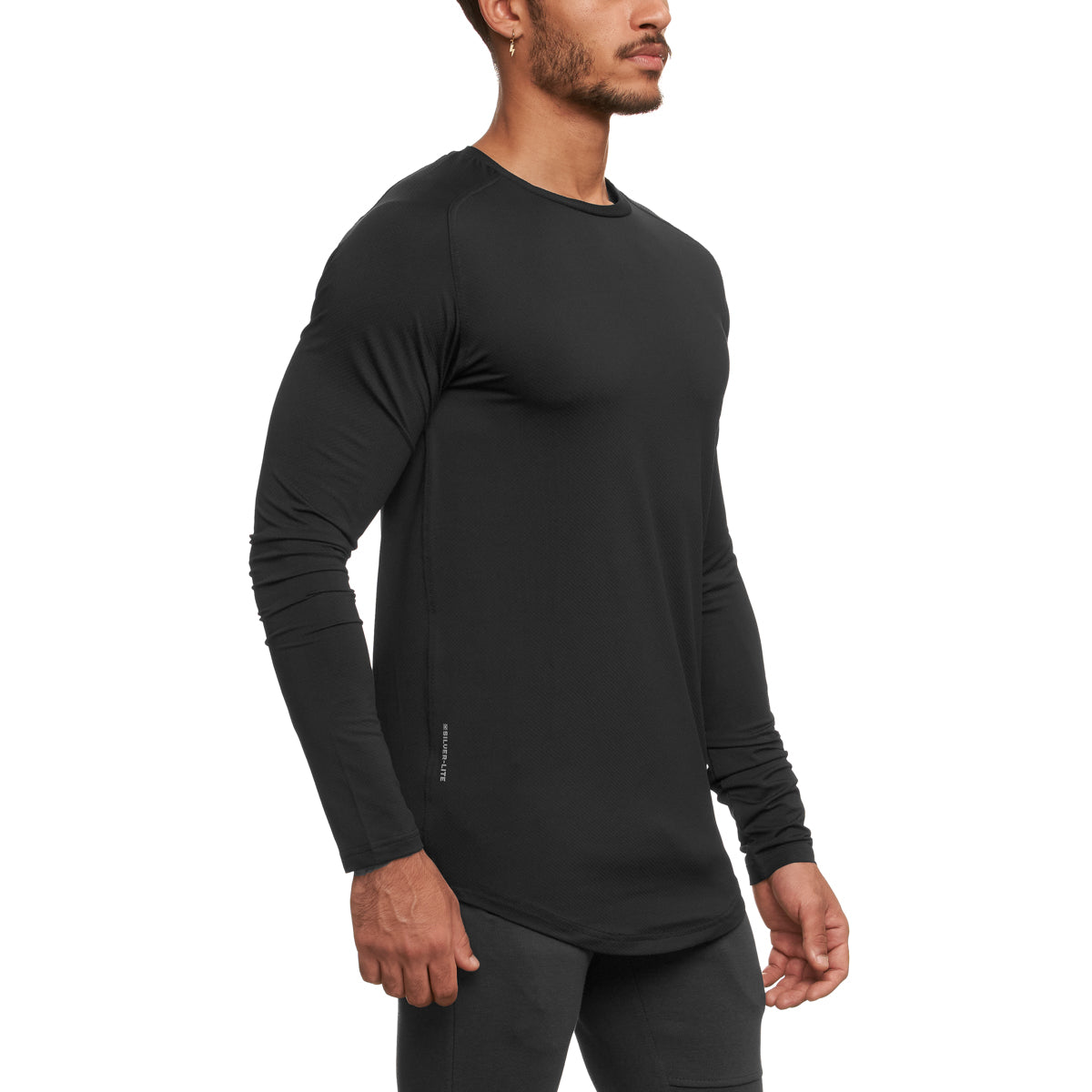 0149. Silver-Lite® Long Sleeve - Black