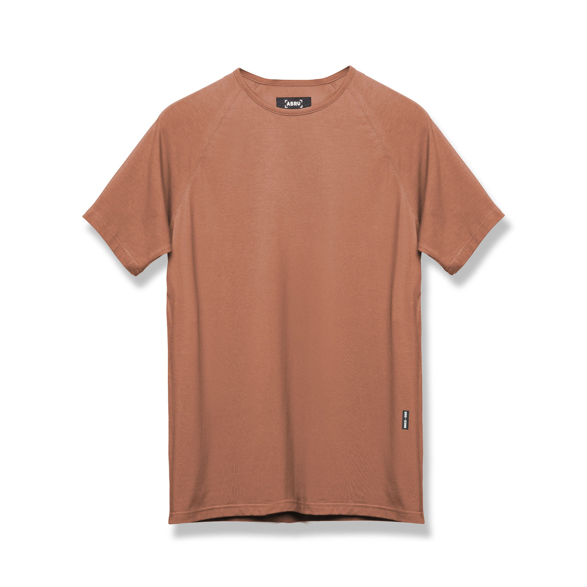 0396. Supima® Fitted Tee - Red Clay