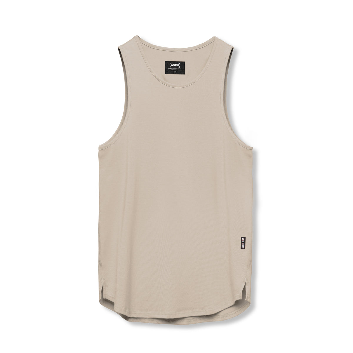 0397. Supima® Tank Top - Sand Smoke