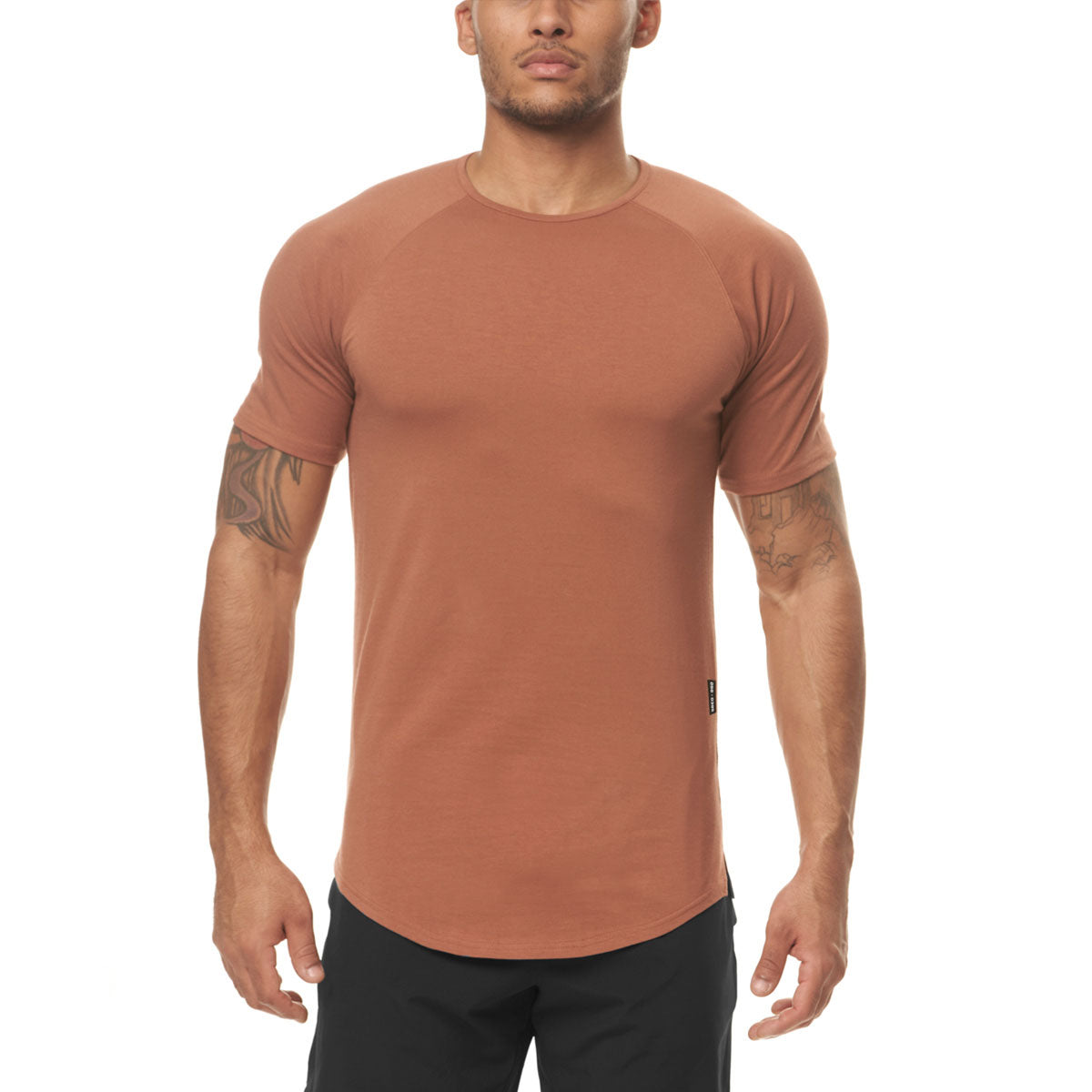 0395. Supima® Established Tee - Red Clay