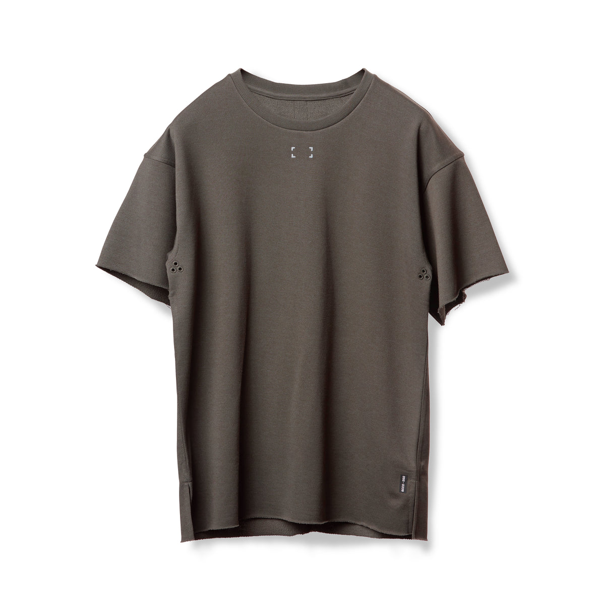 0339. French Terry Oversized Tee - Deep Taupe