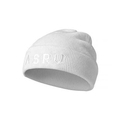 Thermal Wool Beanie - White