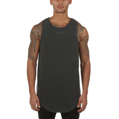 0272. SilverPlus® Garment-Dyed Tank - Faded Grey