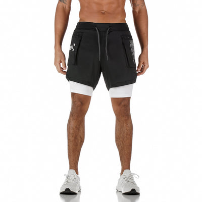 "0258. SilverPlus® 5"" Liner Cargo Short - Black"