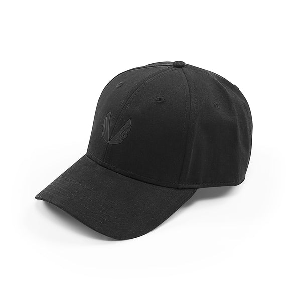 Sport Cap Wings Logo - Black/Black