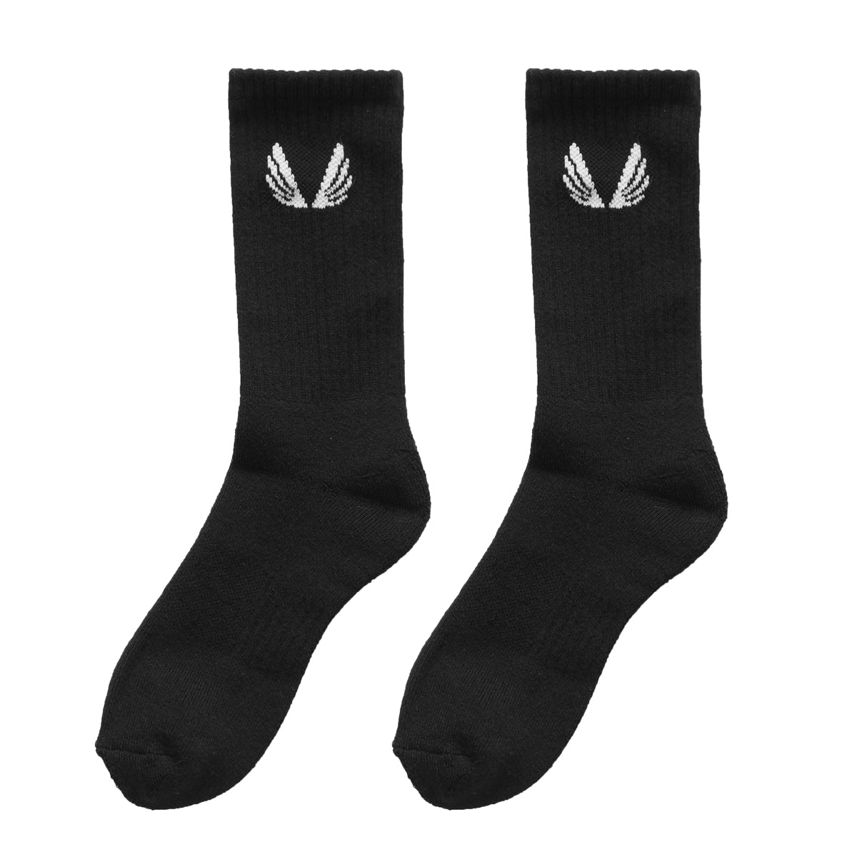 Essential Crew Socks (3 Pair) - Black