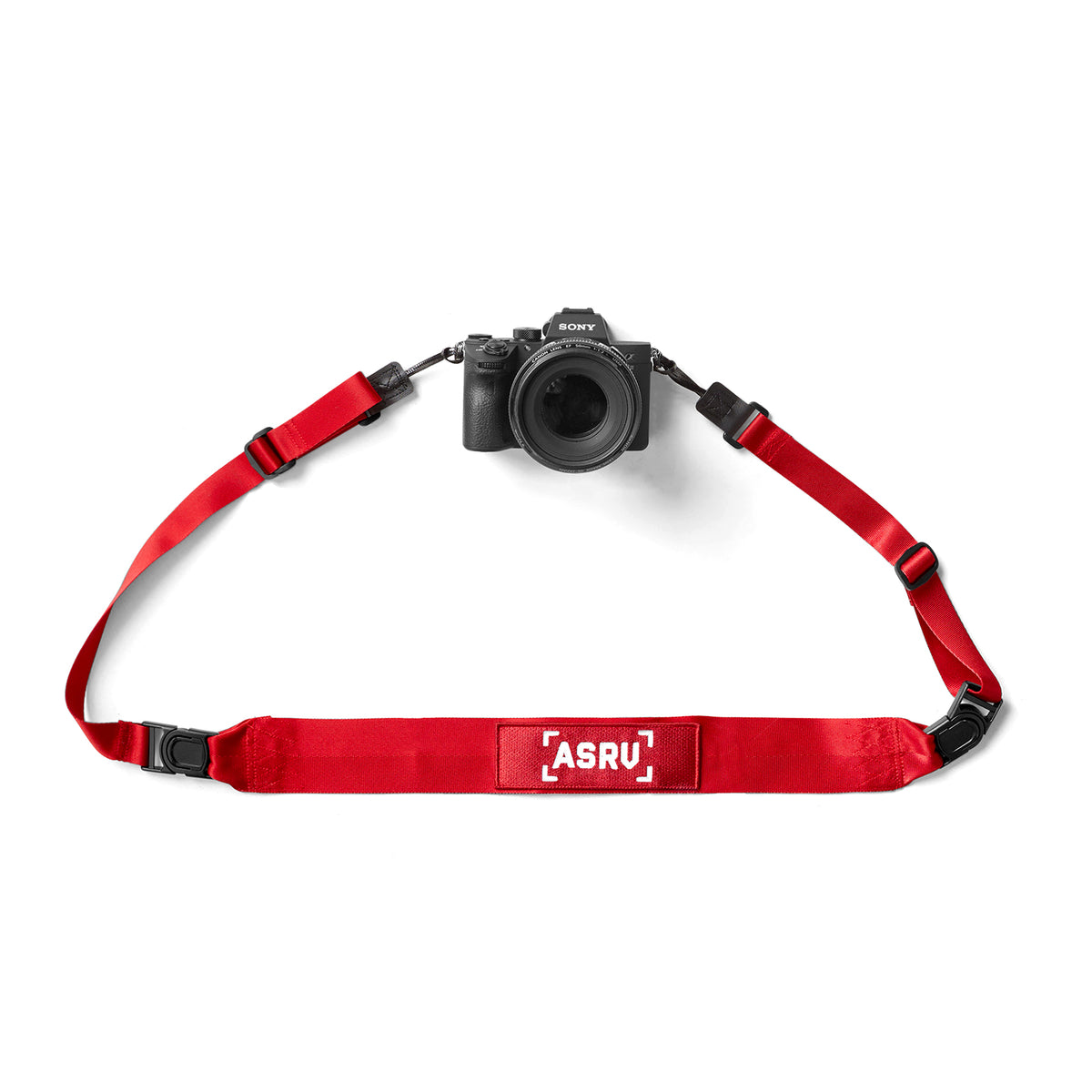 0276. Camera Strap - Red