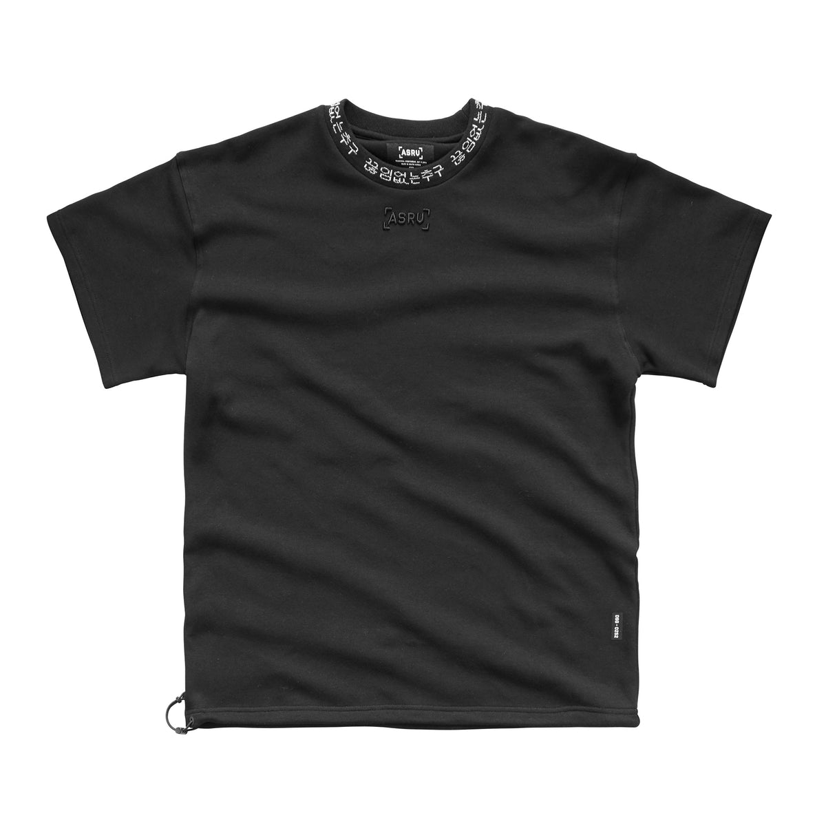 0252. SilverPlus® Technical Cinch Tee - Black