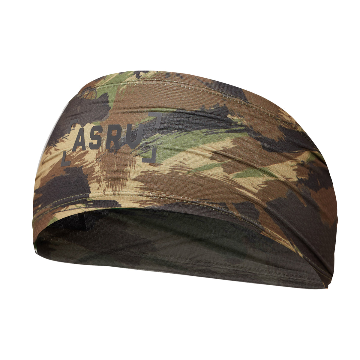 "0249. Silver-Lite® ""ASRV"" Headband - Woodland Brushed Camo"