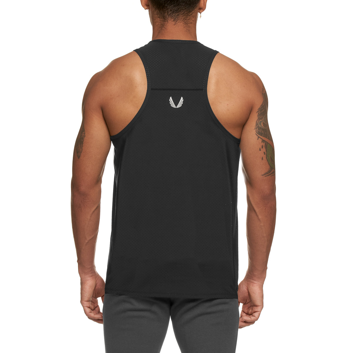 0303. Laser-Lite™ Performance Singlet - Black