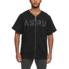 0296. Reversible Heavyweight Baseball Jersey - Black/White