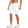 0286. Creora® Side Pocket Compression Short - White