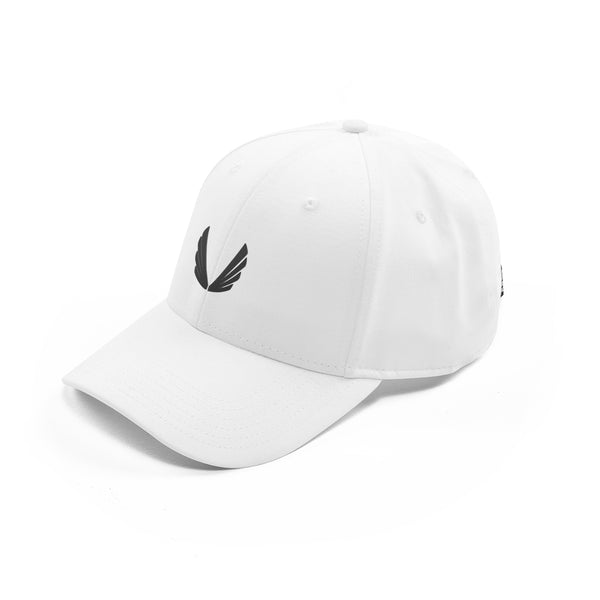 Sport Cap Wings Logo - White/Black