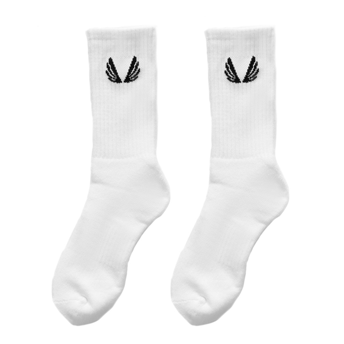 Essential Crew Socks (3 Pair) - White