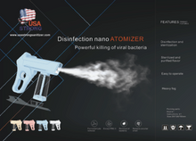 Load image into Gallery viewer, Disinfectant Handheld Sanitizer Sprayer
