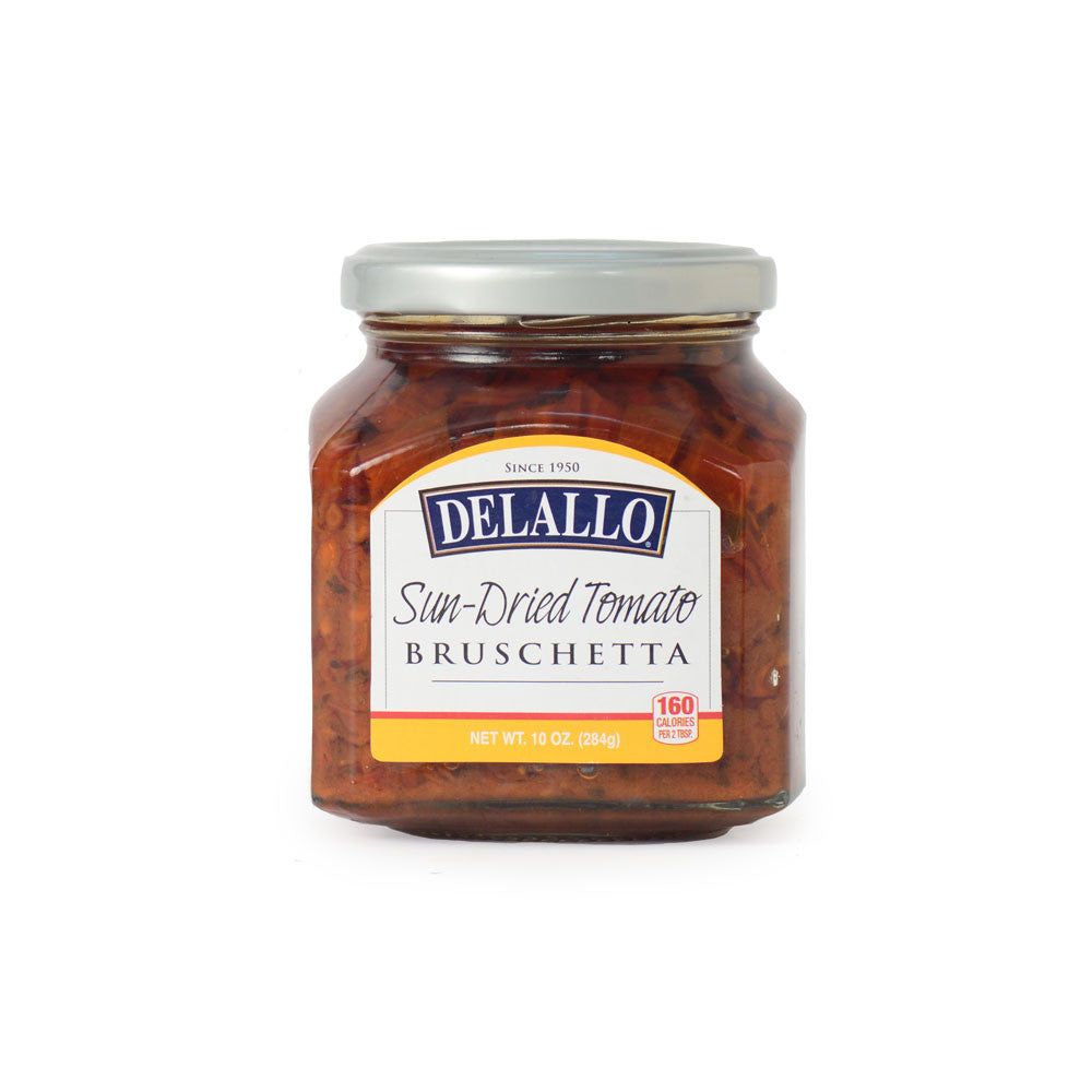DeLallo Imported Sun-Dried Tomato Bruschetta 7.05 oz.