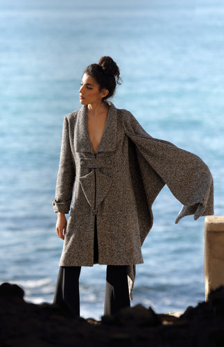 Asymmetrical Coat