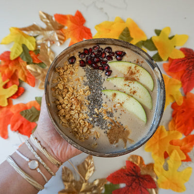 Plant-Based Fall Smoothie Bowl
