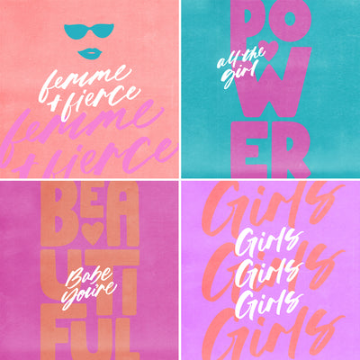 Femme + Fierce Digi Downloads