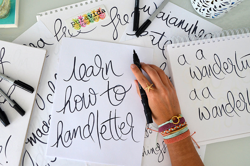 Make Art! Learn How to Hand Letter