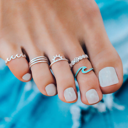 Trending now: Toe Rings