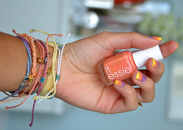 DIY: Sunset Painted Nails