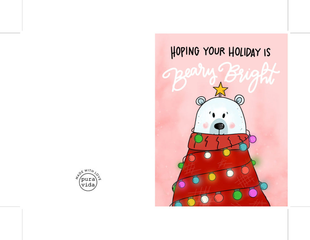 It's just a picture of Happy Holidays Printable Card inside aesthetic