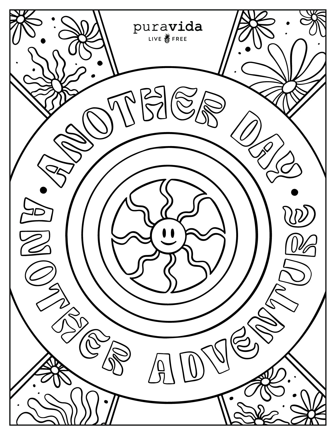 PV Birthday Coloring Sheets - Another Day Another Adventure