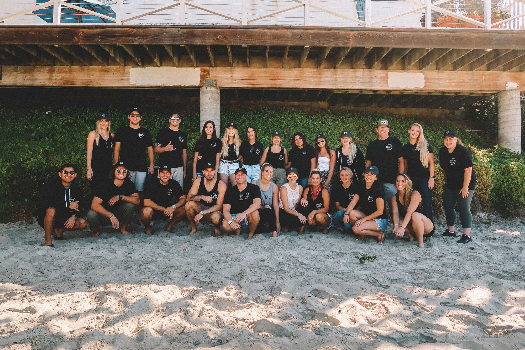 The pura vida team photo