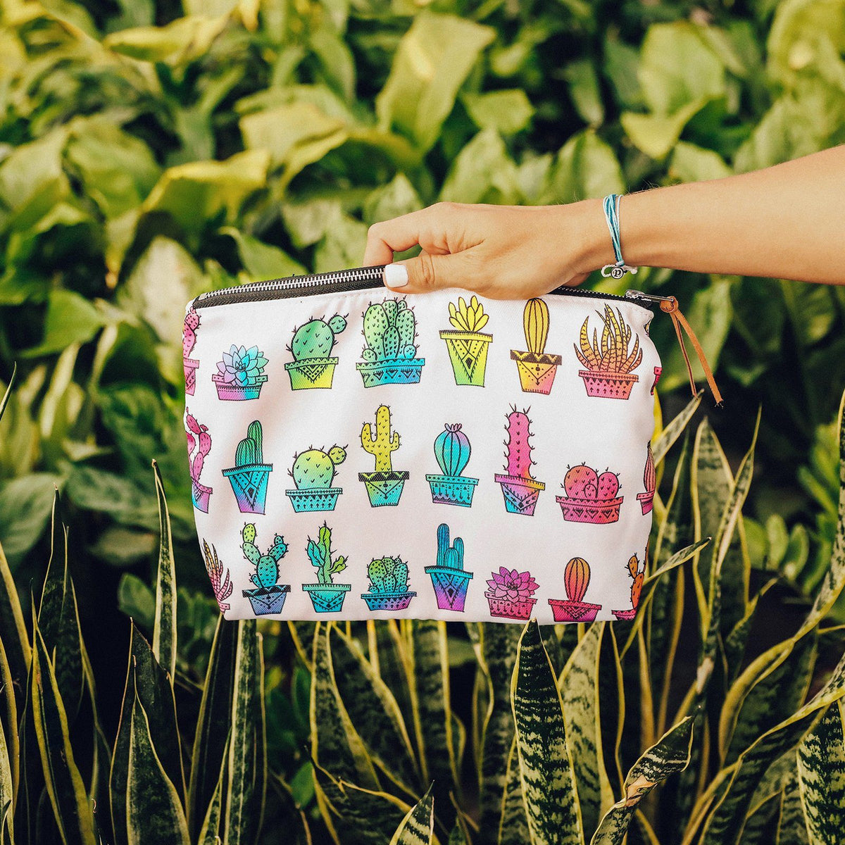 Rainbow Cactus Clutch Photo 4