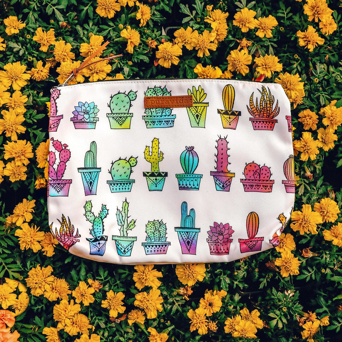Rainbow Cactus Clutch Photo 3