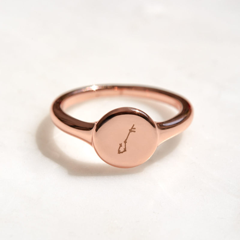 Engravable Signet Ring 5