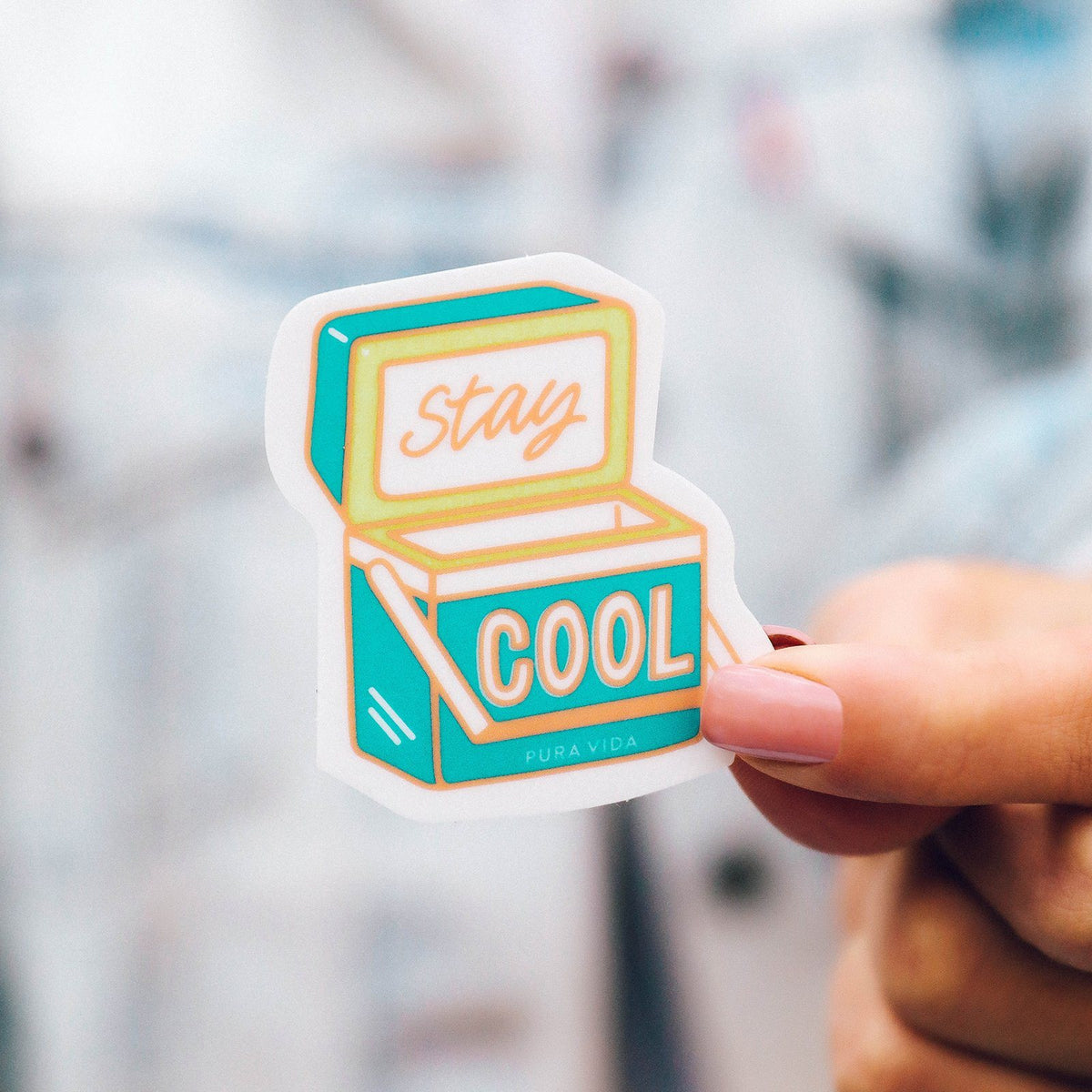 Stay Cool Sticker 2