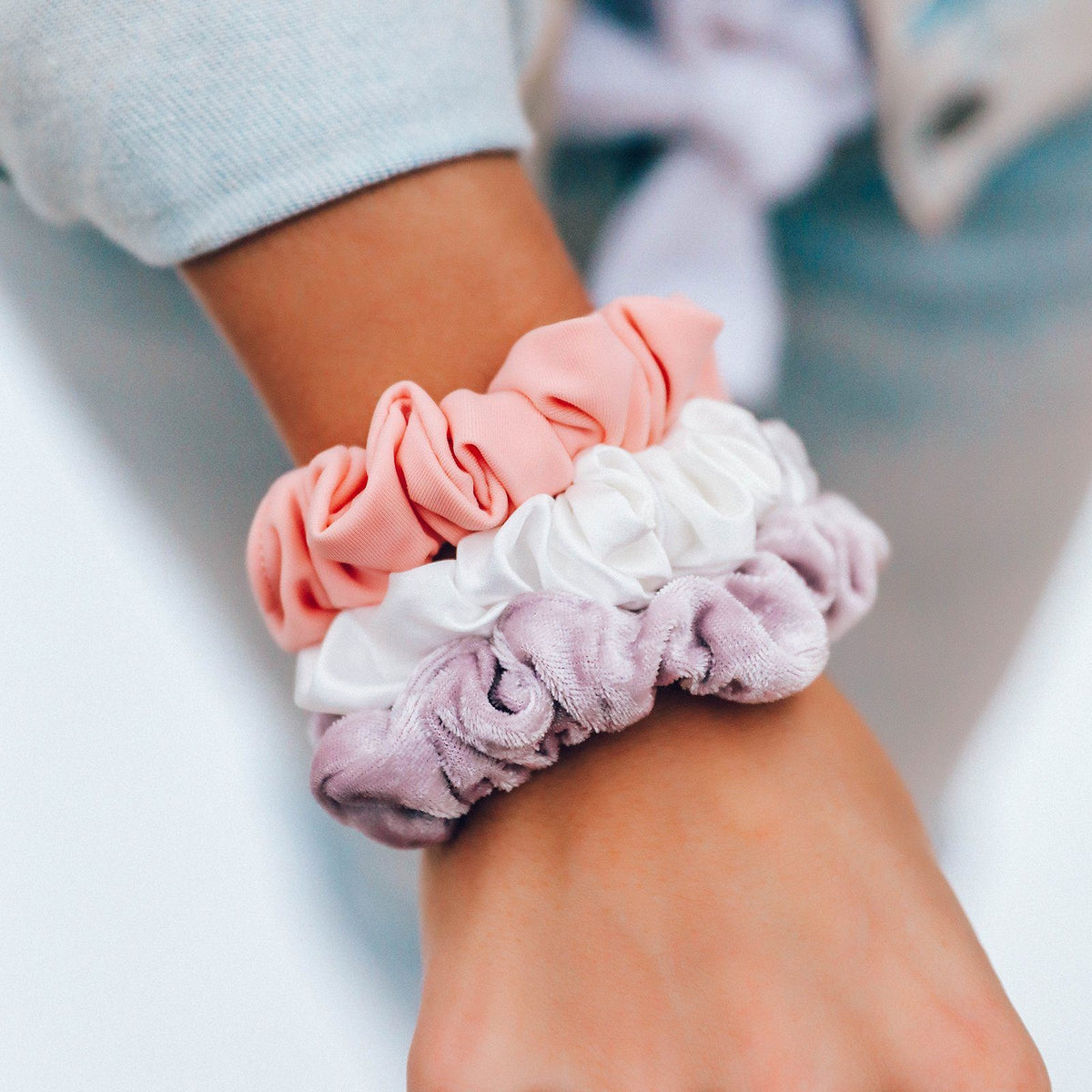 Sunset Scrunchies (Set of 3) 4