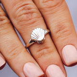 Shell Signet Ring Photo 2