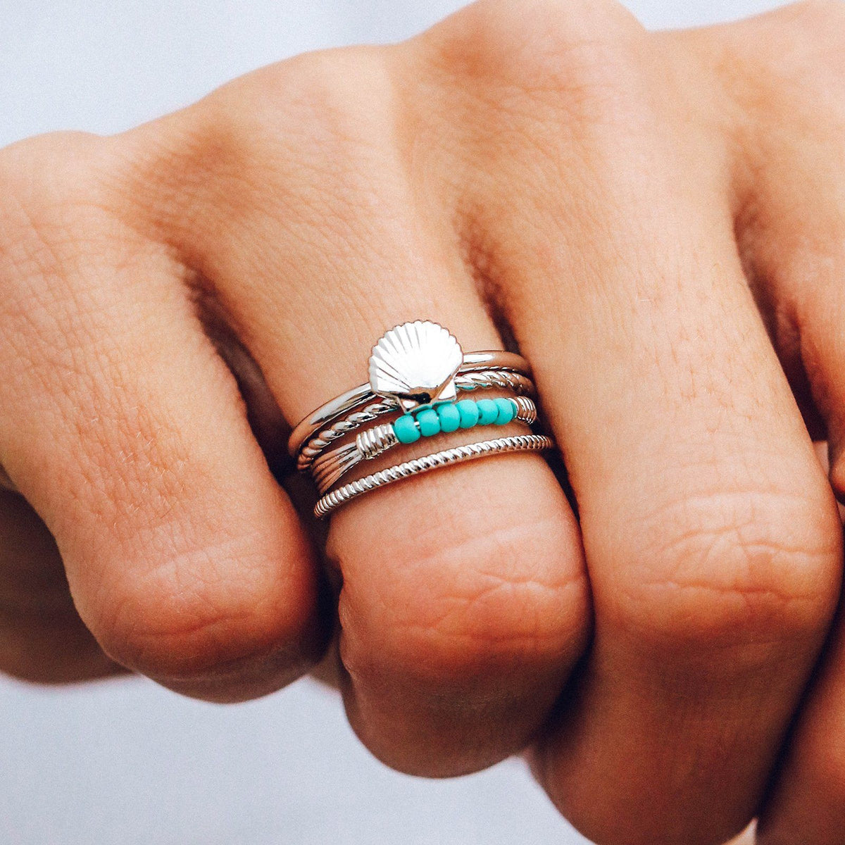 Shell Ring Stack 2