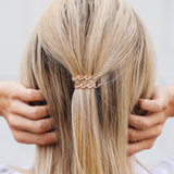 Wave Hair Barrettes (Set of 2) Photo 6
