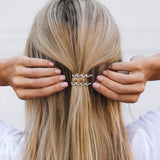 Wave Hair Barrettes (Set of 2) Photo 5