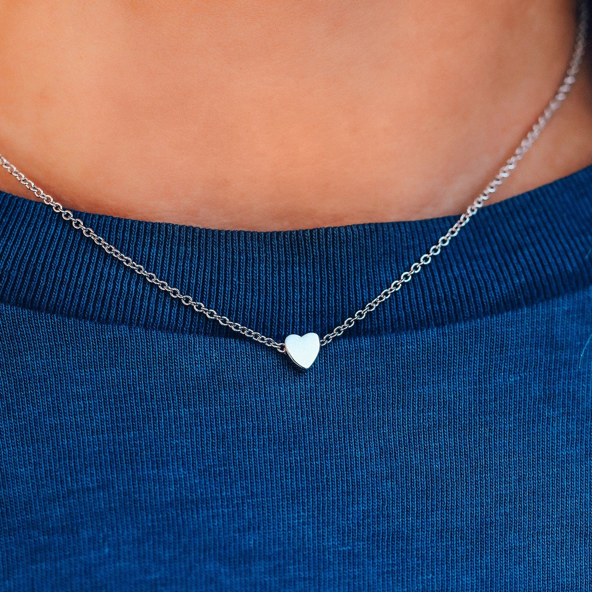 Floating Heart Choker 5