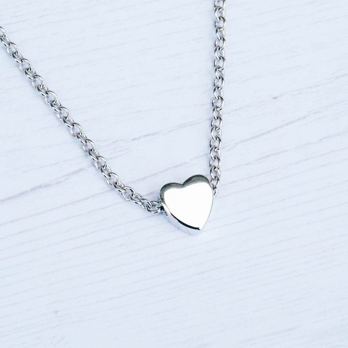 Floating Heart Choker 7
