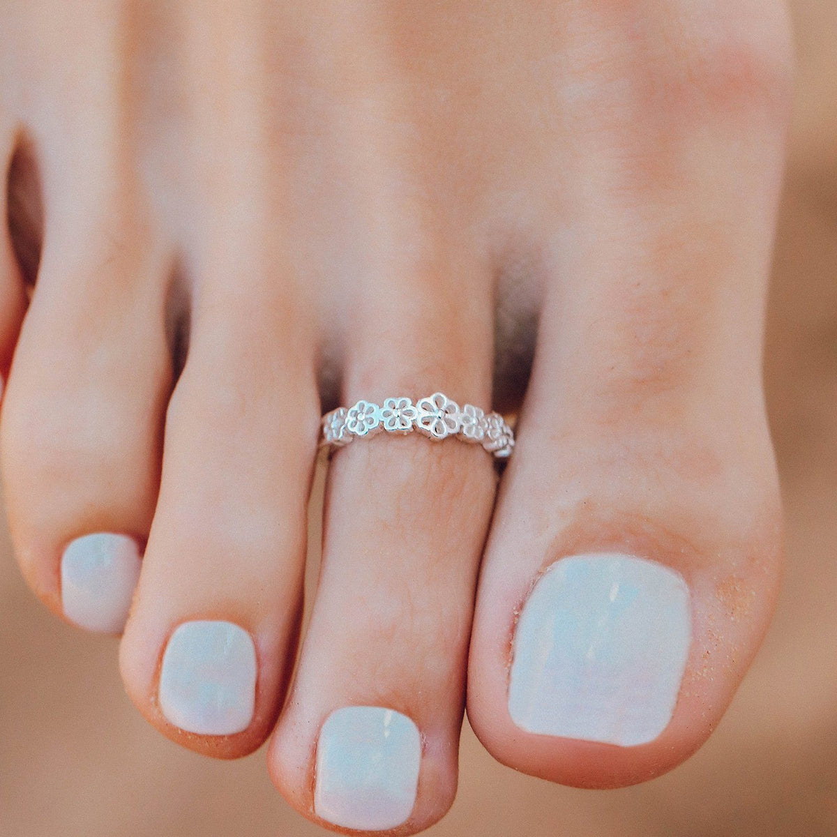 Daisy Toe Ring 3